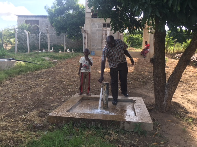 The Rosminians are hoping to build two new secondary schools near Dar Es Salaam. The first step to achieving this aim is to collect water