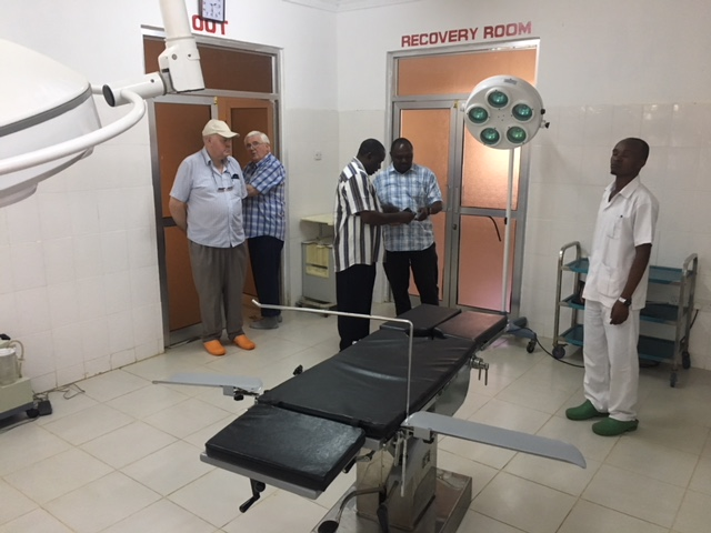 The new operating theatre at Kwalukonge, which caters for many Masai and other local tribes